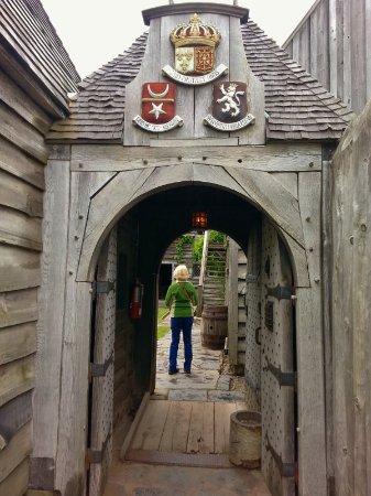 Port-Royal National Historic Site : Entrance.