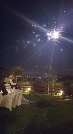 Pettinengo, Италия: fuochi d'artificio