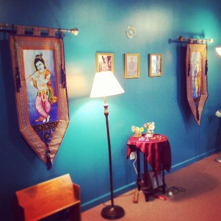 Downingtown, Pensilvania: Tapovan: Asana classroom