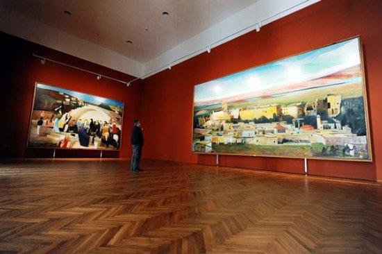 du quadri di grandi dimensioni picture of tivadar
