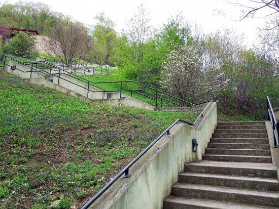 Altoona, Pensilvania: 194 Stairs to top