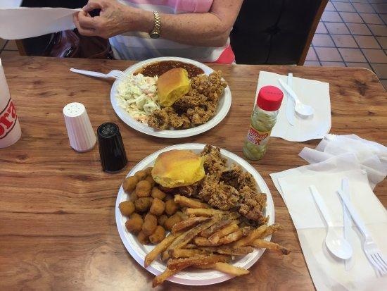 Grandy's : Chicken livers - June 20, 2016
