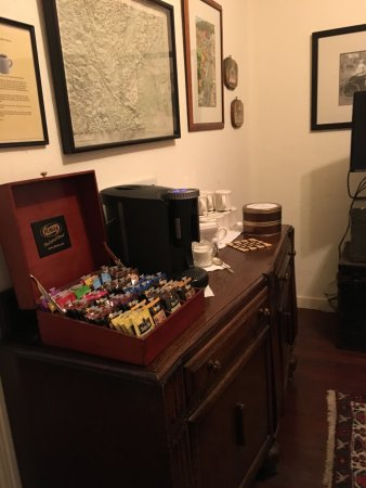 Weaverville Hotel & Emporium: machine that is somewhat like a Keurig