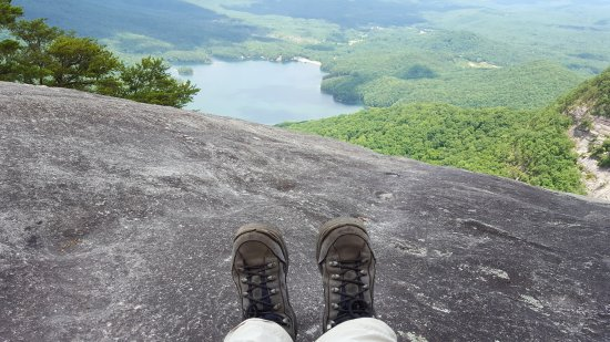 Pickens, Güney Carolina: View at end of Table Rock Mountain Trail
