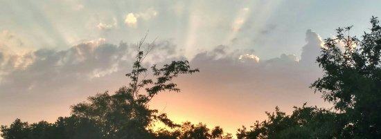 Plankinton, Dakota du Sud : Sunsetting!!! Hills RV Park...