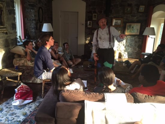 Ballyhannon Castle: Storytelling in the coach house