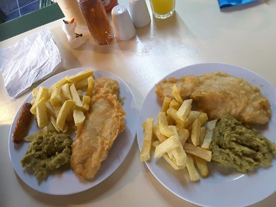 Codswallop fish and chips restaurant picture of for Fish chips restaurant