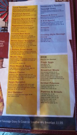 Stewartville, MN: breakfast menu