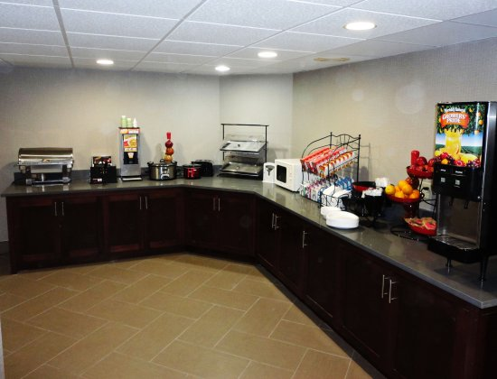 Ramada Tuscaloosa: New Renovated Breakfast Area