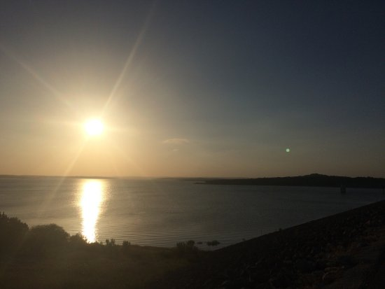 Canyon Lake: Sunset 1 from Dam