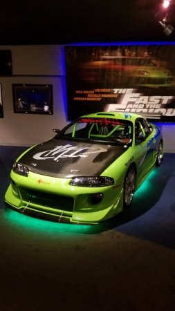 paul walker's mitsubishi eclipse from first fast and furious