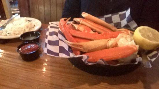 Cabot, AR: Crab legs, super good!