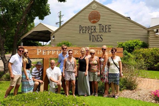 Pepper Tree Wines: Peppe Tree Wines. A great place to stop on one of our Catchabus Tours Wine Tasting Trips.