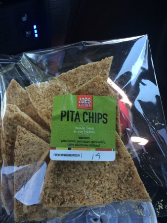 Zoes Kitchen: Pita Chips