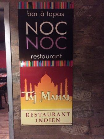 Victoriaville, Canada: Taj Mahal Restaurant Indien