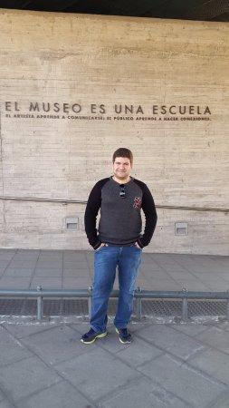 Museo de la Memoria y los Derechos Humanos (Museum der Erinnerung und der Menschenrechte): Do lado de fora do museu