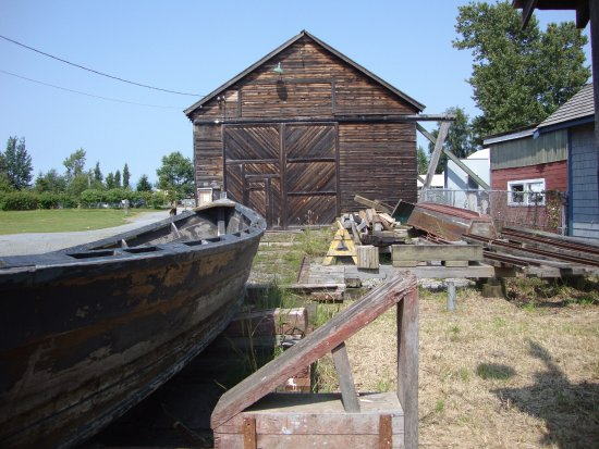 Hagensborg, Canadá: Steveston Heritage Fishing Village: Museo