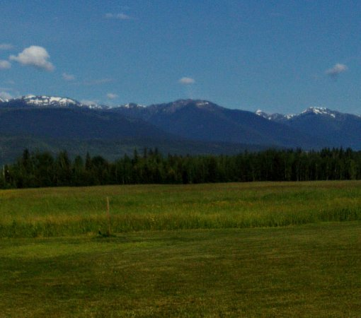 McBride, Canada: This is your $99.00 morning view -- with a cup of amazing coffee to go with it.