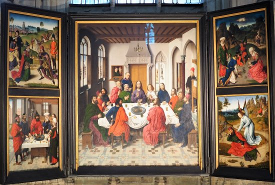 Dieric Bouts 1565c The Last Supper Triptych - Picture of ...