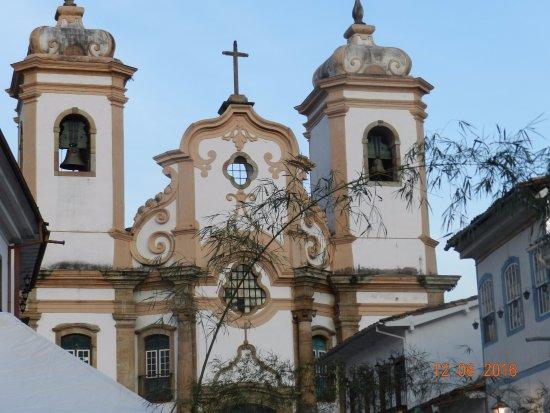 Basilica of Nossa Senhora do Pilar: FRENTE DA BASÍLICA