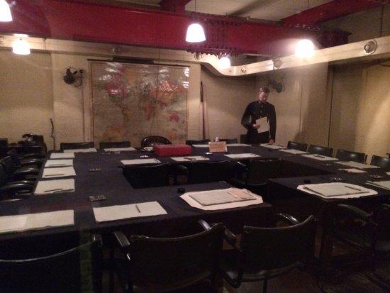 Churchill War Rooms Meeting Room