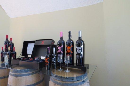 Display Armida Winery
