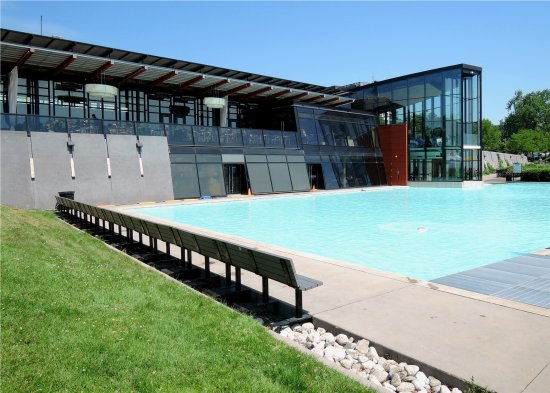 Spencer 39 s restaurant and the lagoon boating pool - Swimming pools burlington ontario ...