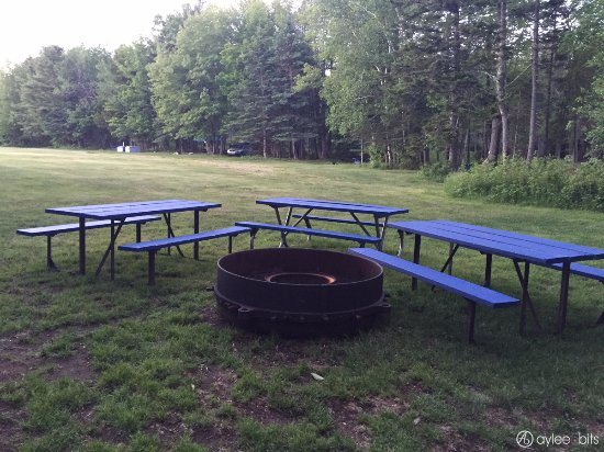 Group Tent Site Picnic Tables And Fire Ring Picture Of Smugglers - Fire picnic table