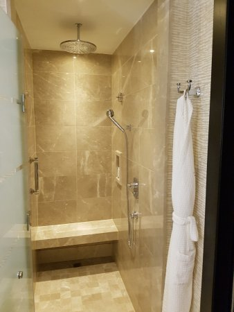 Love the Rainfall Shower. - Picture of Kempinski Hotel Mall of the ...