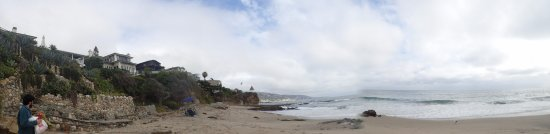 Shaws Cove: Panoramic view - the houses are very close