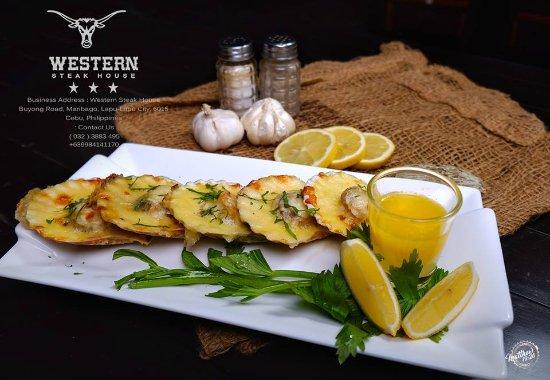 Western Steak House: Freshly Baked Scallops(  Php 280.00