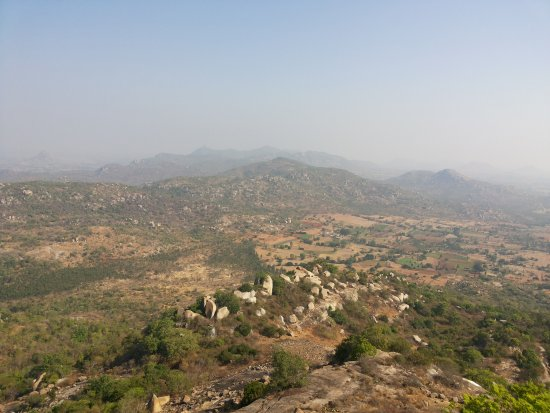 Chikkaballapur, Indien: View