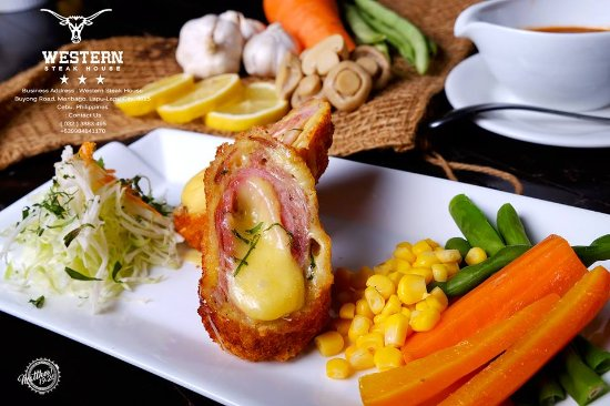 Western Steak House: US Pork Tender Cordon Bleu 【Php 380.00】