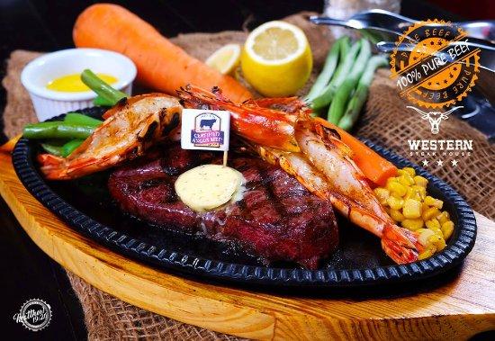 Western Steak House: Western Surf N' Turf 【Php 980.00】