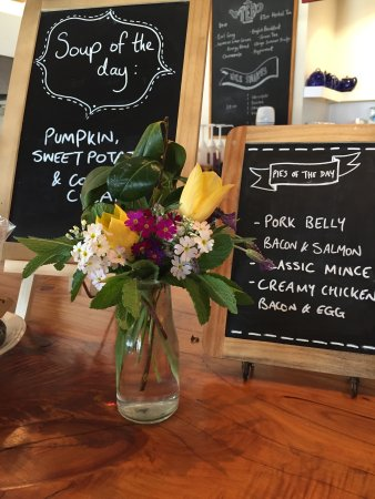 Farm Barn Cafe: Example of our daily menu