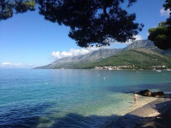 Podaca, Croatia: Views from the campsite