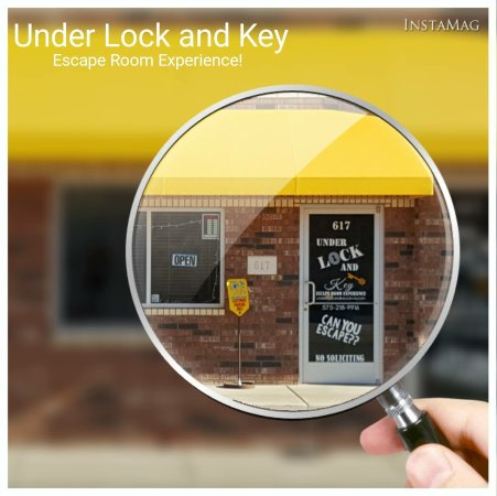 Under Lock and Key - Escape Room Experience: Live Escape Games