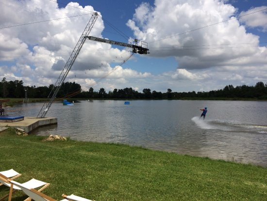 Avensan, France: Wakeboard