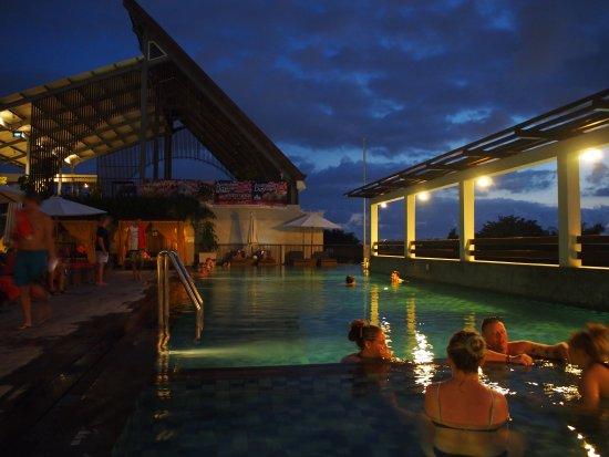 The ONE Legian: Hotel exterior at night