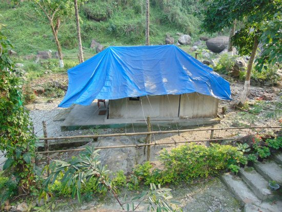 Jhalong, อินเดีย: The tent we have stayed