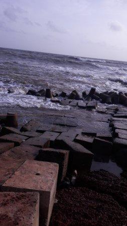 Anjuna Market : View of Anjuna Beach