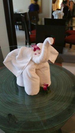 Marriott's Mai Khao Beach - Phuket: towel art
