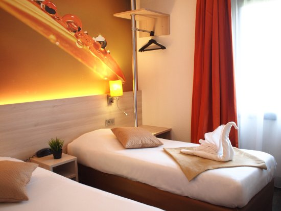 Hotel Inn Design : Chambre Twin ou grand lit