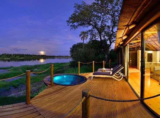 Victoria Falls River Lodge - Zambezi Crescent: Luxury Tented Accommodation - each with private deck and plunge pool