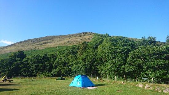 Lochranza Caravan u0026 C& Site our wee tent & our wee tent - Picture of Lochranza Caravan u0026 Camp Site Lochranza ...