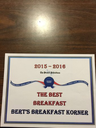 Stevensville, MI: Number 1 breakfast in Berrien county Michigan.Best Breakfast award!