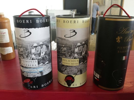Costigliole d'Asti, Itália: Boeri Vini