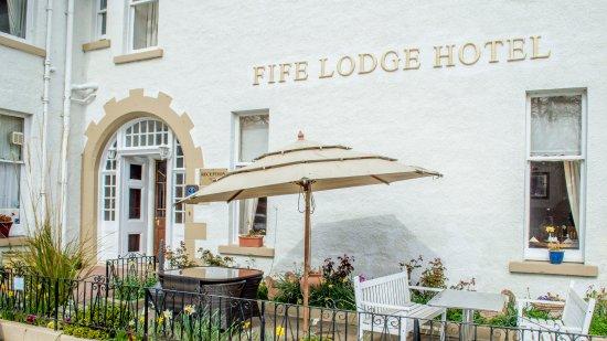 Fife Lodge Hotel: Outside Seating