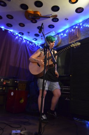 The Blue Man: Music night