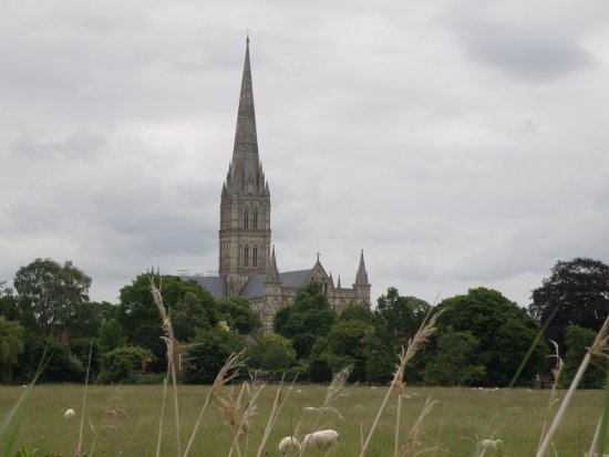 Harnham, UK: Town Path